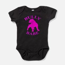 Cute Bully pitbull Baby Bodysuit