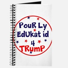 poorly educated for Trump Journal