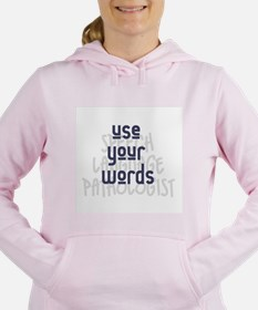 Cute Speech therapy Women's Hooded Sweatshirt