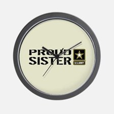 U.S. Army: Proud Sister (Sand) Wall Clock