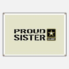 U.S. Army: Proud Sister (Sand) Banner