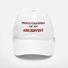 Proud Grandma of a Archivist Baseball Baseball Cap
