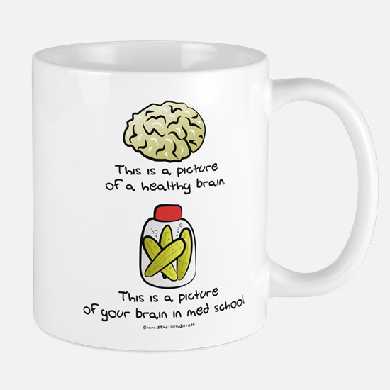 Med School Brain Mug