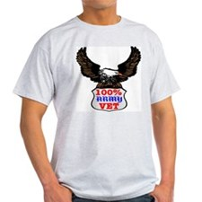 100% Army Vet Eagle T-Shirt