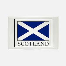 Funny Scotland flag Rectangle Magnet