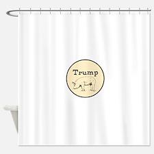 Trump pig, anti tump Shower Curtain