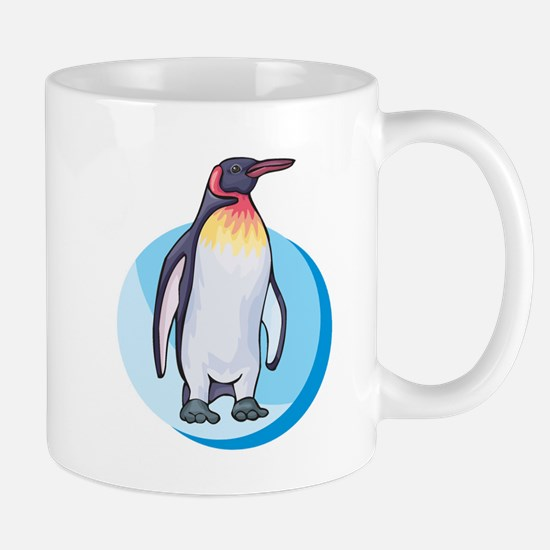 King Penguin Design Mug