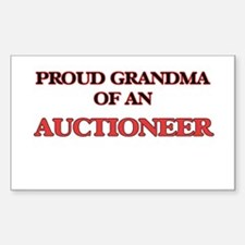 Proud Grandma of a Auctioneer Decal