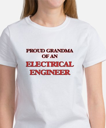 Proud Grandma of a Electrical Engineer T-Shirt