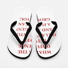hillary clinton Flip Flops