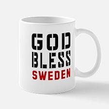 God Bless Sweden Mug