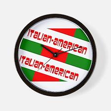 Italian-American Gino's fave Wall Clock