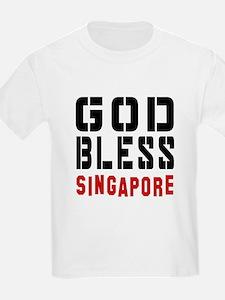 God Bless Singapore T-Shirt