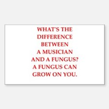 funny fungus joke Decal