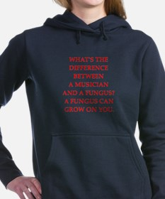 funny fungus joke Women's Hooded Sweatshirt