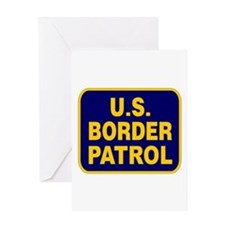 U.S. BORDER PATROL Greeting Card