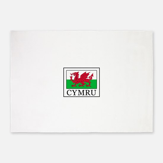 Cymru 5'x7'Area Rug