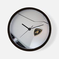 Aventador Pirelli Hood Wall Clock