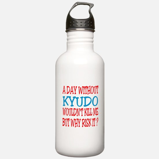 A day without Kyudo Water Bottle