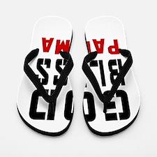 God Bless Panama Flip Flops