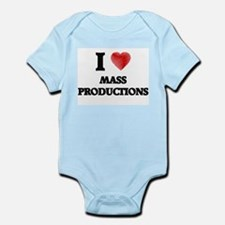 I Love Mass Productions Body Suit