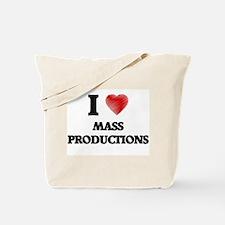I Love Mass Productions Tote Bag