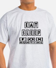 Eat Sleep Fox Hunting T-Shirt