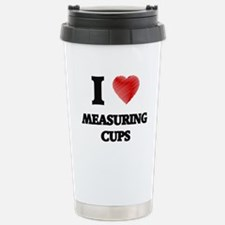I Love Measuring Cups Travel Mug