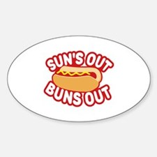 Cute Suns out Decal