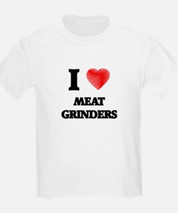 I Love Meat Grinders T-Shirt