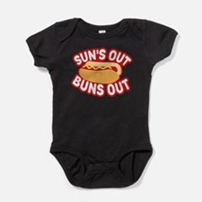 Sun's Out Buns Out Baby Bodysuit