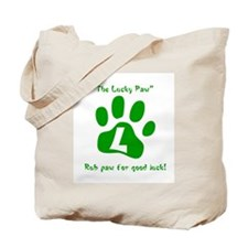 """""""The Lucky Paw"""" Tote Bag"""