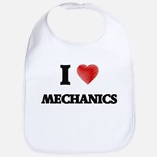I Love Mechanics Bib