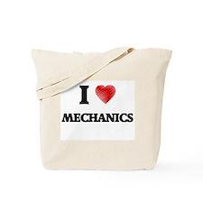 I Love Mechanics Tote Bag