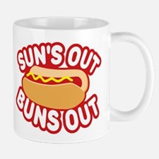 Sun's Out Buns Out Mugs
