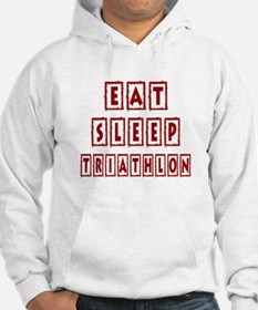 Eat Sleep Triathlon Hoodie