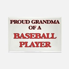 Proud Grandma of a Baseball Player Magnets