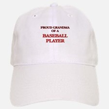 Proud Grandma of a Baseball Player Baseball Baseball Cap