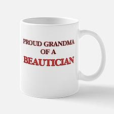 Proud Grandma of a Beautician Mugs