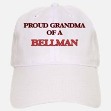 Proud Grandma of a Bellman Baseball Baseball Cap