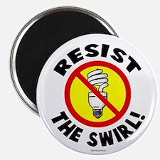 "Resist the Swirl! 2.25"" Magnet (10 pack)"