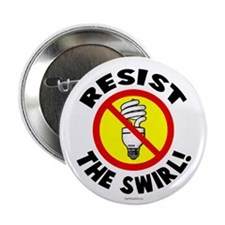 """Resist the Swirl! 2.25"""" Button (10 pack)"""