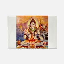 Lord Shiva Meditating Magnets