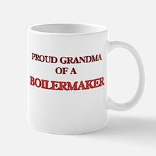 Proud Grandma of a Boilermaker Mugs
