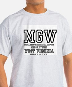 AIRPORT CODES - MGW - MORGANTOWN - WEST VIRGINIA T