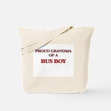 Proud Grandma of a Bus Boy Tote Bag
