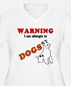 Allergic To Dogs T-Shirt