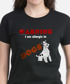 Allergic To Dogs Tee
