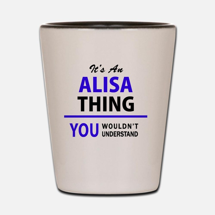 Cute Alisa Shot Glass