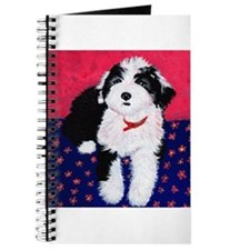 Old English Sheepdog Puppy ~ Journal